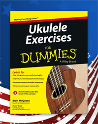 <em>Ukulele Exercises For Dummies</em> now shipping in the US