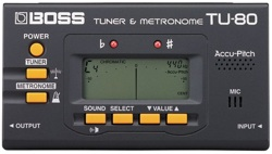 Boss TU-80 Chromatic Tuner