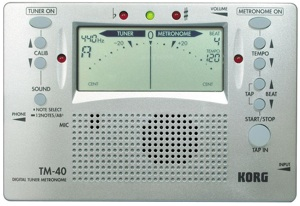 Korg TM-40 Chromatic Tuner
