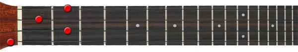 G7 ukulele chord