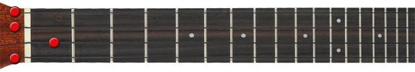 A7 ukulele chord