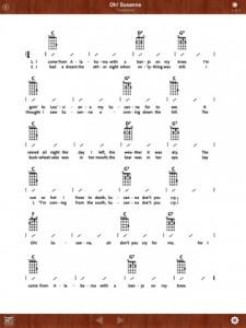 Ukulele Songbook app - Click to enlarge