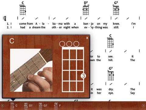 Ukulele Songbook App
