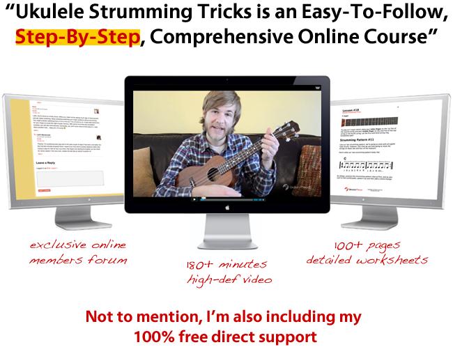 Ukulele Strumming Tricks features