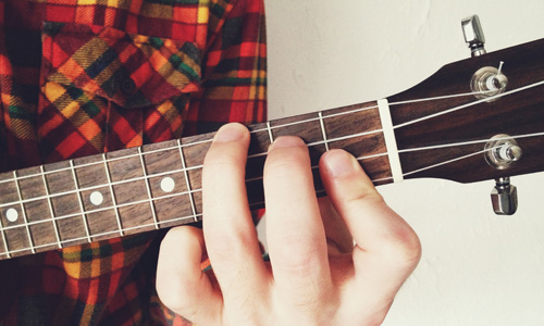 Ukulele ukulele chords b minor : Finding an Easier Way to Play a Bb Chord on Ukulele