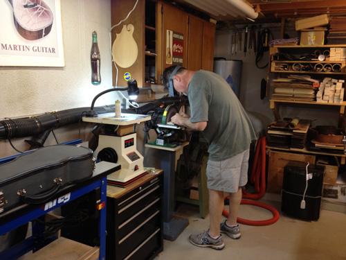 Mike Franks' workshop