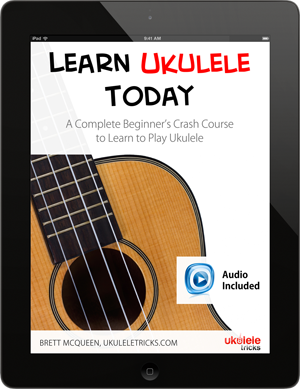 Learn Ukulele Today available on the iPad