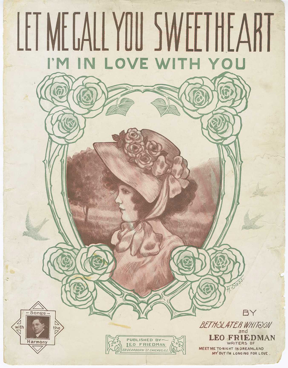 Let Me Call You Sweetheart Sheet Music Cover