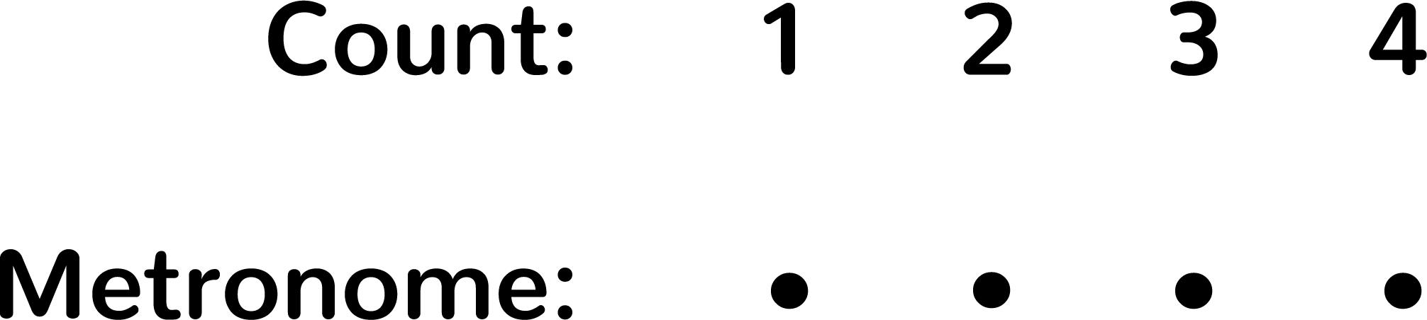 Level 1 Metronome Exercise