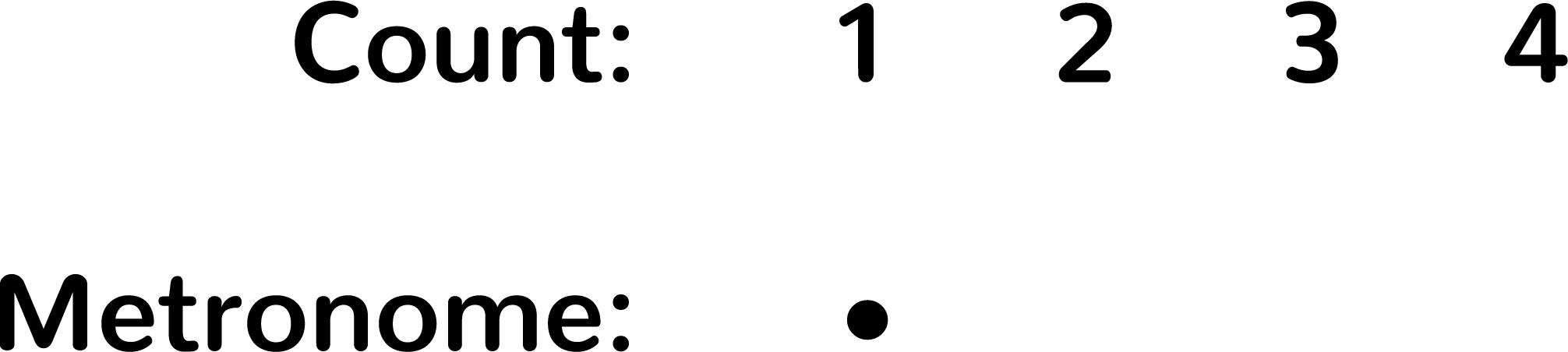 Level 3 Metronome Exercise